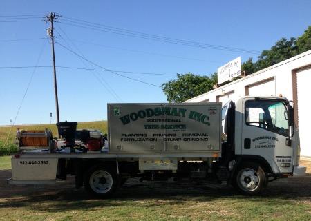 Woodsman Tree Care Service Truck